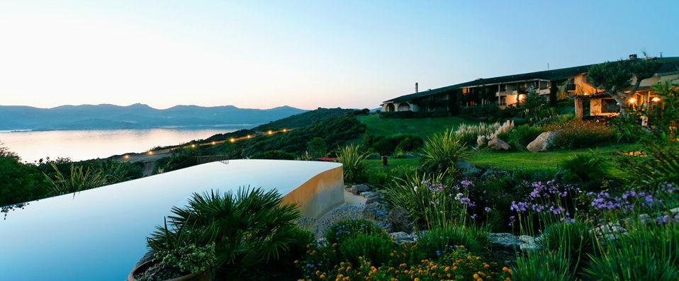 Un hôtel sur l'Ile de Beauté