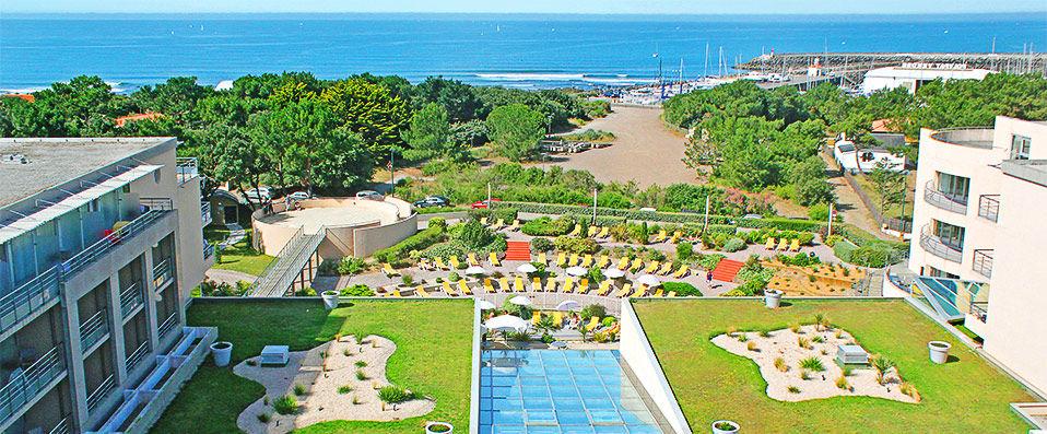 Les jardins de l 39 atlantique verychic exceptional hotels for Le jardin de l atlantique