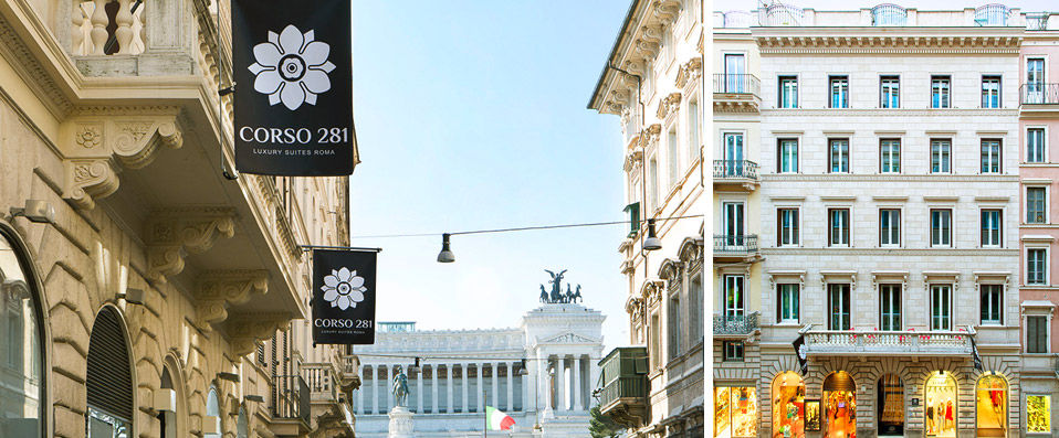 Verychic exceptional hotels exclusive offers sp cial for Hotel corso 281 luxury suites rome