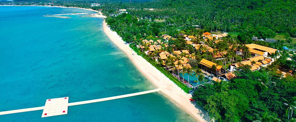 phangan La villa des Beckham à Koh Samui en Thaïlande