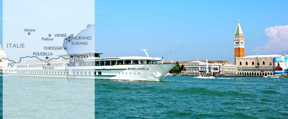 Venise et sa lagune croisi re sur le michelangelo verychic ventes priv es d 39 h tels - Hotel venise port croisiere ...